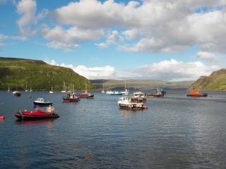 Portree  Isle of sky